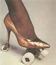 Early Heelie wheelie shoe?